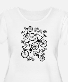 Bicycles Big and Small T-Shirt