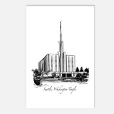 Seattle, Washington Temple Postcards (Package of 8