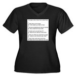 five ways to tell Plus Size T-Shirt