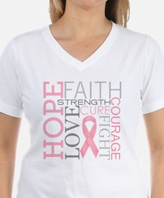 Breast Cancer Collage T-Shirt