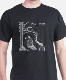 Utah - Phase 1 Poetry Book on a T-Shirt