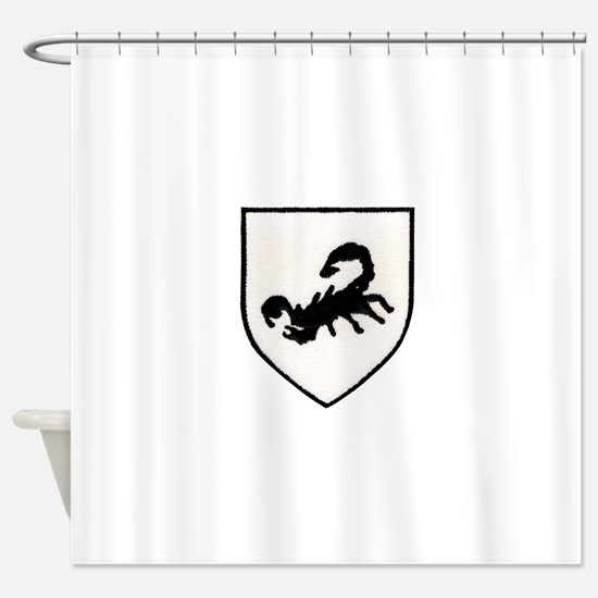 Rhodesian Special Forces Shower Curtain