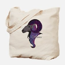 Starlight Aries Tote Bag