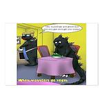 Vegan Godzilla Postcards (Package of 8)