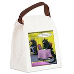 Vegan Godzilla Canvas Lunch Bag