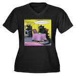 Vegan Godzilla Plus Size T-Shirt