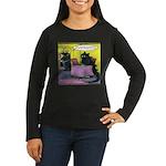 Vegan Godzilla Long Sleeve T-Shirt