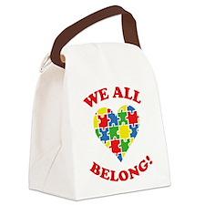 We All Belong! Canvas Lunch Bag