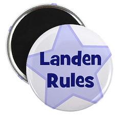 Landen Rules Magnet