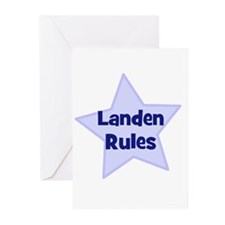 Landen Rules Greeting Cards (Pk of 10)