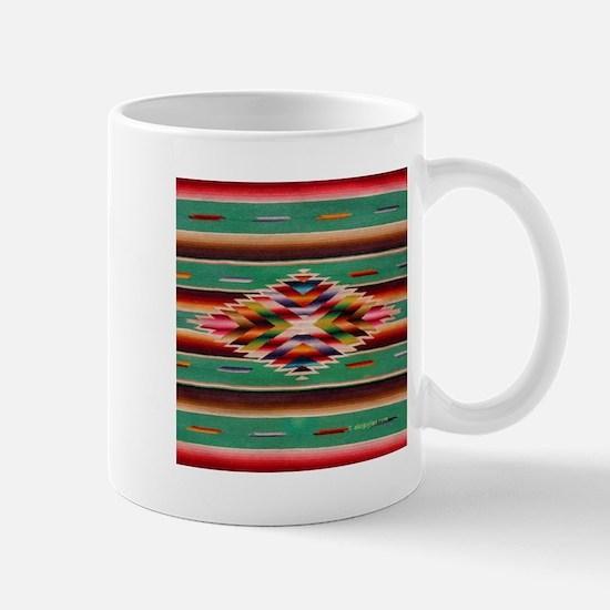 Southwest Indian Weaving Mug