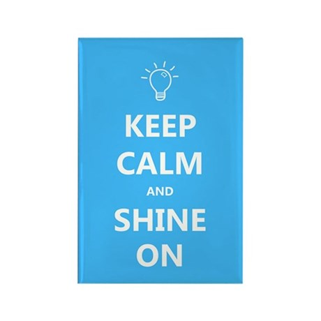 Keep Calm and Shine On Autism Awareness Magnet