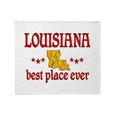 Louisiana Best Throw Blanket