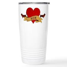 Basset Hound Mom Travel Mug