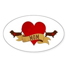 Basset Hound Mom Decal