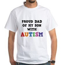 Proud Dad Of My Son With Autism Shirt