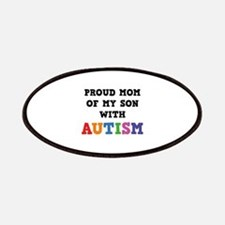 Proud Mom Of My Son With Autism Patches