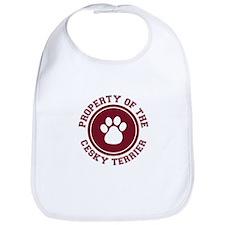 Cesky Terrier Bib