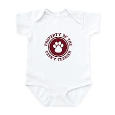 Cesky Terrier Infant Bodysuit