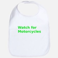 Watch for Motorcycles Bib