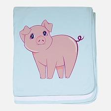 Cute little piggy baby blanket