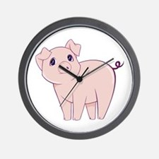 Cute little piggy Wall Clock