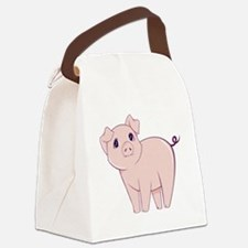 Cute little piggy Canvas Lunch Bag