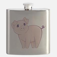 Cute little piggy Flask