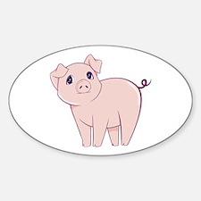 Cute little piggy Decal