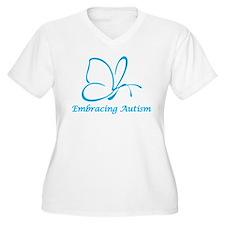 Embracing Autism Plus Size T-Shirt