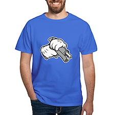 Cartoon Hands with 9mm T-Shirt