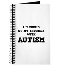 I'm Proud Of My Brother With Autism Journal