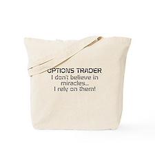 Options Trader - Miracles Tote Bag