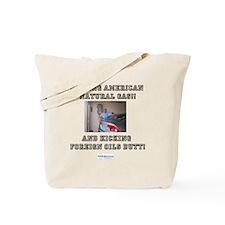 American natural gas Tote Bag