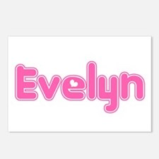 """""""Evelyn"""" Postcards (Package of 8)"""