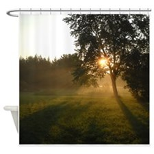 Sunrise Shadows Shower Curtain