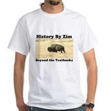 History By Zim Shirt w/ Website on Back