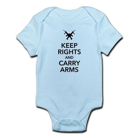 Keep Rights and Carry Arms Body Suit