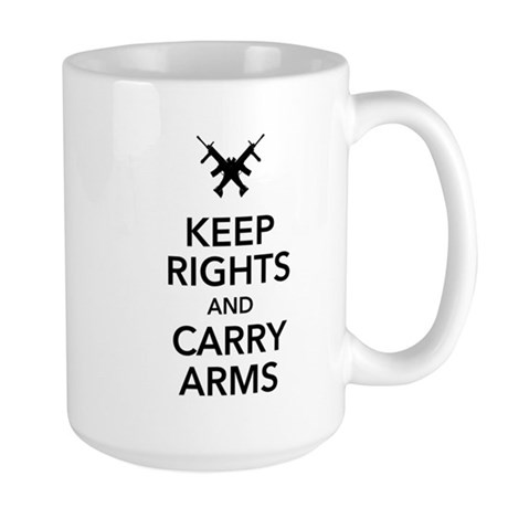 Keep Rights and Carry Arms Mug