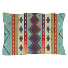 Southwest Indian Blanket Design Pillow Case