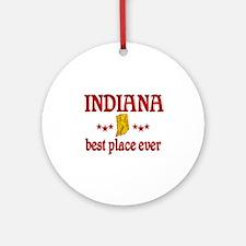Indiana Best Ornament (Round)