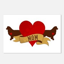 Australian Shepherd Mom Postcards (Package of 8)