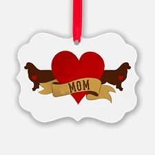 Australian Shepherd Mom Ornament