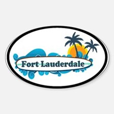 Fort Lauderdale - Surf Design. Decal