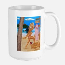 BEACH CATFIGHT Mug