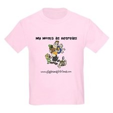 Kids Tshirt Moms at Retreat T-Shirt