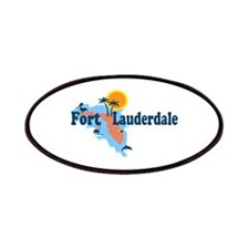 Fort Lauderdale - Map Design. Patches