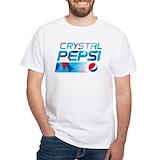 Pepsi Mens Classic White T-Shirts