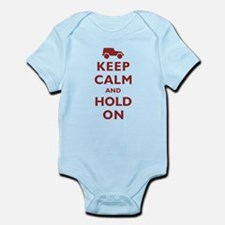 Keep Calm and Hold On Body Suit
