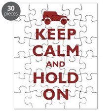 Keep Calm and Hold On Puzzle